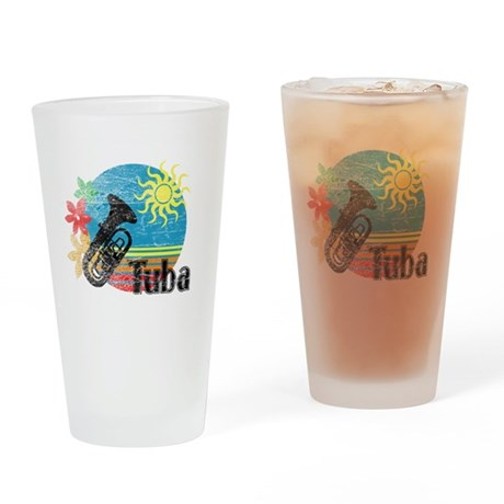 Hawaiian Tuba Pint Glass