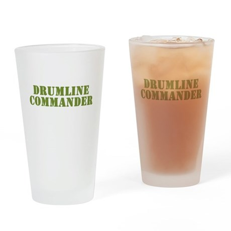 Drumline Commander Pint Glass
