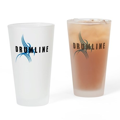 Drumline Pint Glass