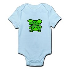 Undead Teddy Infant Bodysuit