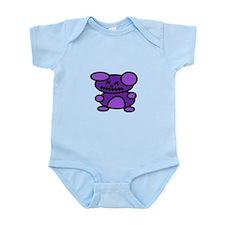 Zombie Teddy Bear Infant Bodysuit