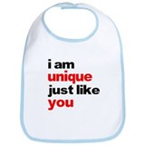 I am unique just like you shi Bib