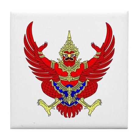Thai Garuda Symbol Tile Coaster