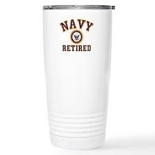 USN Navy Retired Travel Mug