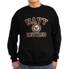 USN Navy Retired Sweatshirt