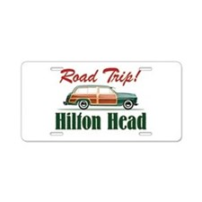 Hilton Head Road Trip - Aluminum License Plate