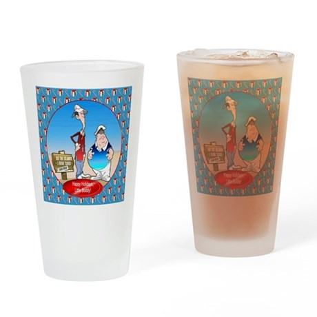 Gilligan's Island Pint Glass