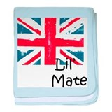 Cute Union jack baby blanket