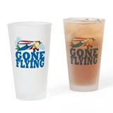 Flying Pint Glass