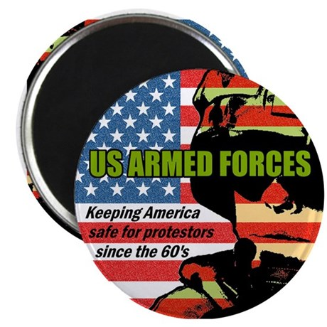 "U.S. Armed Forces 2.25"" Magnet (100 pack)"
