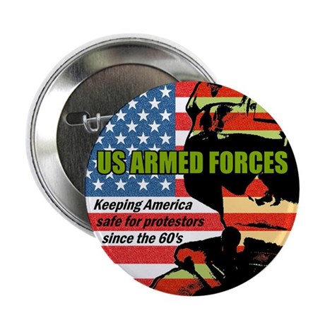 "U.S. Armed Forces 2.25"" Button (100 pack)"