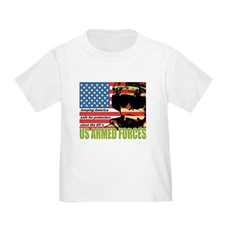 U.S. Armed Forces Toddler T-Shirt