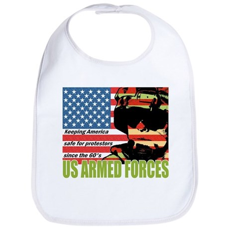 U.S. Armed Forces Bib