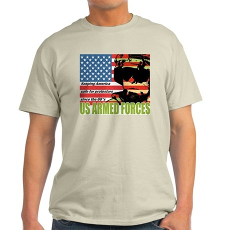 U.S. Armed Forces Ash Grey T-Shirt