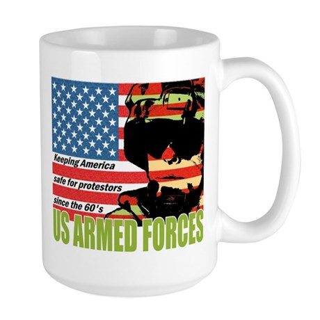 U.S. Armed Forces Large Mug