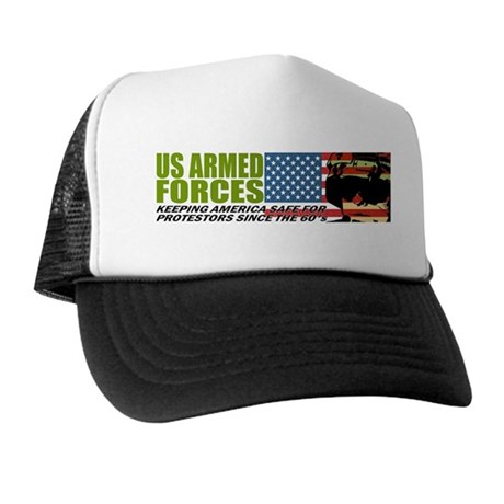 U.S. Armed Forces Trucker Hat