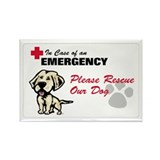 Save My Yellow Lab Rectangle Magnet (10 pack)