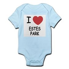I heart estes park Infant Bodysuit