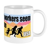 Migrate One Way Small Mug