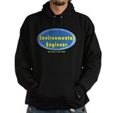 Environmental Blue Oval Hoodie