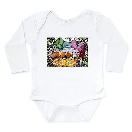 Corgi Cottage Chic Long Sleeve Infant Bodysuit