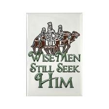WiseMen still seek Him Rectangle Magnet