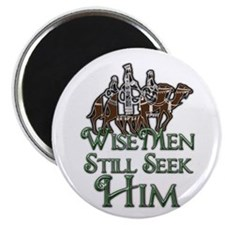 "WiseMen still seek Him 2.25"" Magnet (100 pack)"