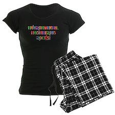 Environmental Rocks Text pajamas