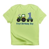 1st Birthday Tractor Infant T-Shirt