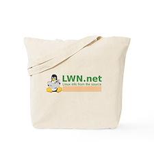 Cute Linux media Tote Bag