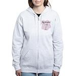 Veg-a-holic Women's Zip Hoodie