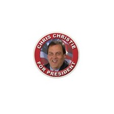 Chris Christie for President Mini Button