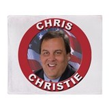 Chris Christie Throw Blanket