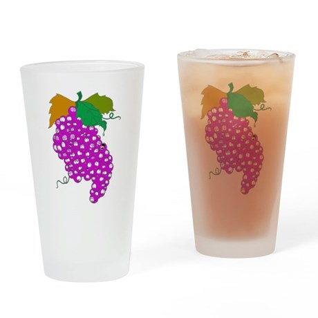 GRAPES Pint Glass
