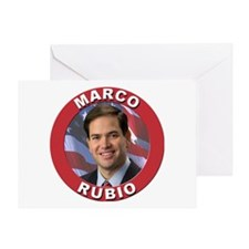 Marco Rubio Greeting Card