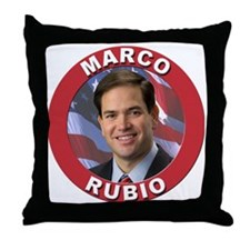 Marco Rubio Throw Pillow