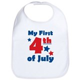 First 4th of July Bib