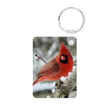 Cardinal Winter Keychains