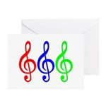MUSIC V Greeting Cards (Pk of 10)