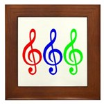 MUSIC V Framed Tile