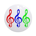 MUSIC V Ornament (Round)