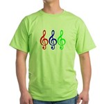 MUSIC V Green T-Shirt