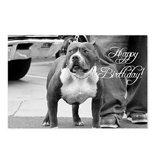 Happy Birthday Staffordshire Postcards (Package of