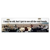 Woodstock Bumper Car Sticker