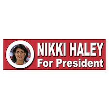 Nikki Haley for President Bumper Sticker