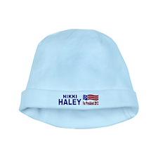 Nikki Haley for President baby hat