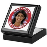 Nikki Haley for President Keepsake Box