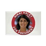 Nikki Haley for President Rectangle Magnet (100 pa