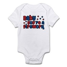 Baby you're a firework Infant Bodysuit