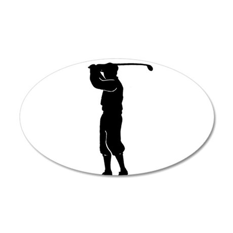 Fore! 22x14 Oval Wall Peel